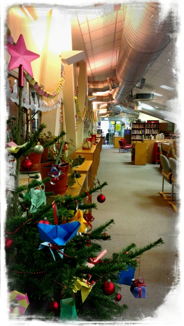 A Christmas Library