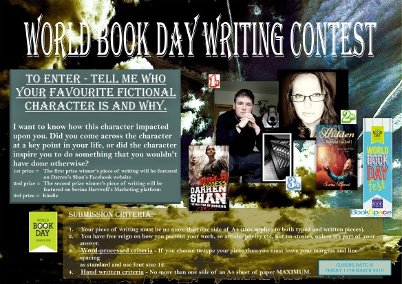 WORLD BOOK DAY WRITING CONTEST 2016 WEBSITE VERSION 2.1.1